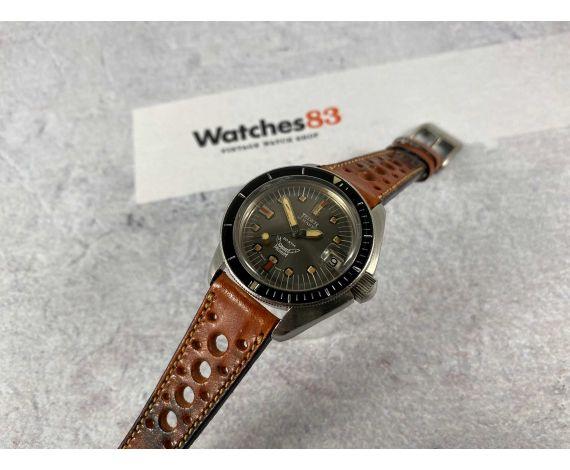 JEDER MANN Reloj suizo antiguo automático ETA 2772 DIVER 30 ATM Corona roscada Lollipop *** SQUALE ***