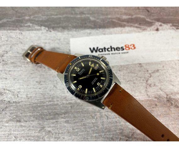 BESSA PRESTIGE Vintage swiss automatic watch 200M Cal. AS 1902/03 DIVER Bidirectional bezel *** LARGE DIAMETER ***