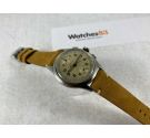 TELDA by LES FILS d'ARMAND NICOLET Vintage swiss hand winding chronograph watch Cal. VENUS 170 Patina dial *** BEAUTIFUL ***