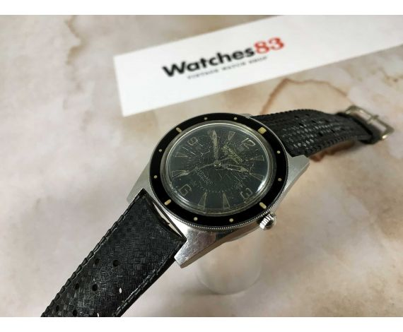 BLANCPAIN FIFTY FATHOMS Reloj suizo antiguo automático Rayville S.A. ROTOMATIC INCABLOC *** COLECCIONISTAS ***