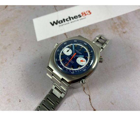 Breitling Trans Ocean Chrono-Matic Ref 2119 Vintage Swiss automatic chronograph watch Cal. 12 *** SPECTACULAR CONDITION ***