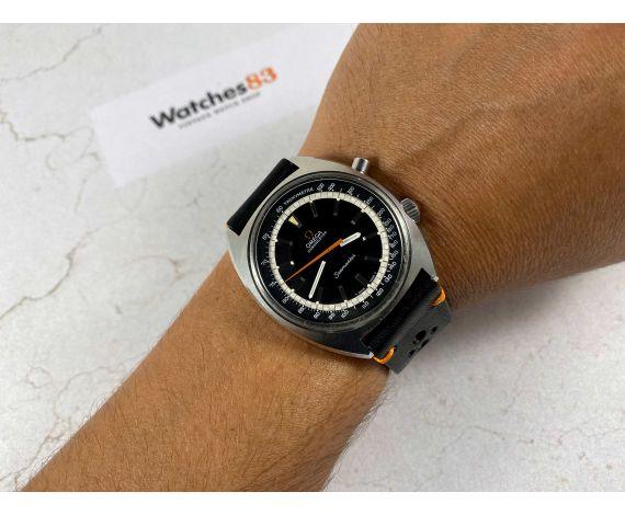 OMEGA SEAMASTER CHRONOSTOP Reloj cronógrafo antiguo de cuerda Cal 865 Ref. 145.007 *** OVERSIZE ***