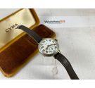 CYMA TAVANNES WATCH Co WW1 Antique Swiss hand winding trench watch MILITARY Porcelain Dial *** PRECIOUS ***