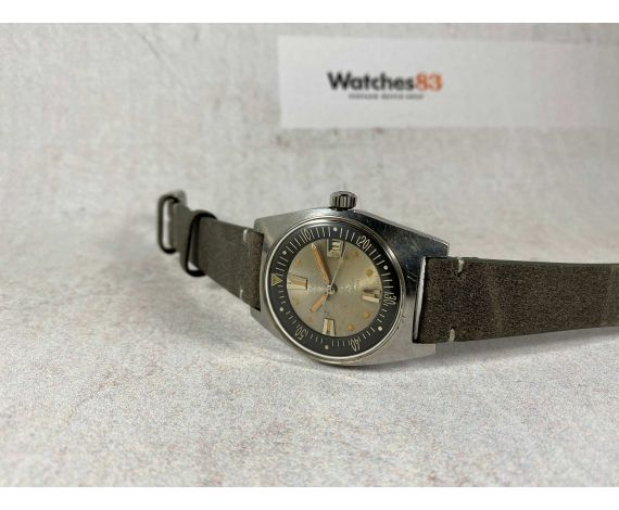 DUWARD AQUASTAR Vintage swiss DIVER automatic watch Cal. AS 1902/03 200 MÈTRES Ref. 1903 *** PRECIOUS PATINA ***