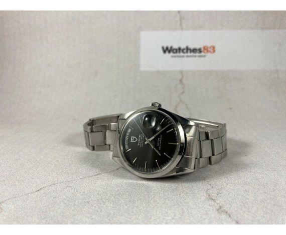 TUDOR OYSTER PRINCE DATE DAY Reloj suizo vintage automatico Ref. 94500 Cal. ETA 2834-1 *** PRECIOSO ***