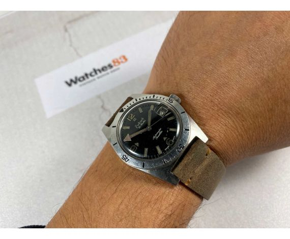 EVILARD Diver Vintage swiss automatic watch 25 Rubis Cal. ETA 2789 *** SPECTACULAR ***