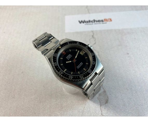 OMEGA SEAMASTER ELECTRONIC F300 HZ Ref. 198.0005 DIVER Chronometer Cal. 916 Reloj suizo vintage *** CORONA ROSCADA ***