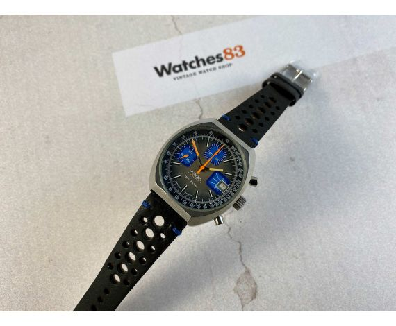 PIROFA Vintage hand winding chronograph watch Valjoux 7765 EBAUCHE SUISSE *** RACING ***