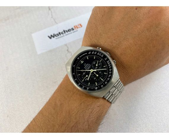 Omega Speedmaster MARK II Ref 145.014 Cal Omega 861 Reloj suizo vintage cronógrafo de cuerda *** DIAL CHOCOLATE ***
