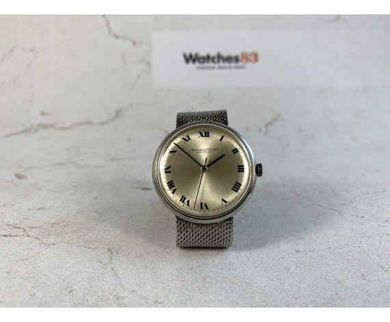 IWC International Watch Co Schaffhausen R1405 Vintage swiss manual winding watch Cal. IWC 402 *** DRESS WATCH ***