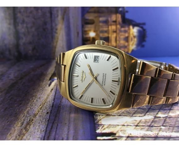faad91b4920 Vintage watches>Longines>Vintage swiss watch automatic Longines Conquest  gold filled Oversize. IMG_8605