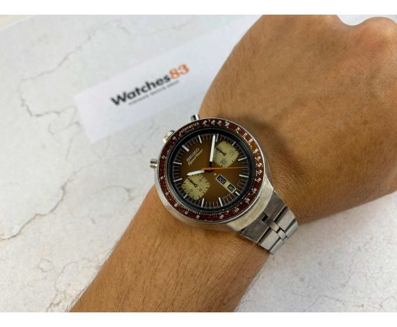 SEIKO BULLHEAD SPEEDTIMER Ref. 6138-0040 Vintage automatic chronograph watch Cal 6138 B JAPAN J 1977 *** ALL ORIGINAL ***
