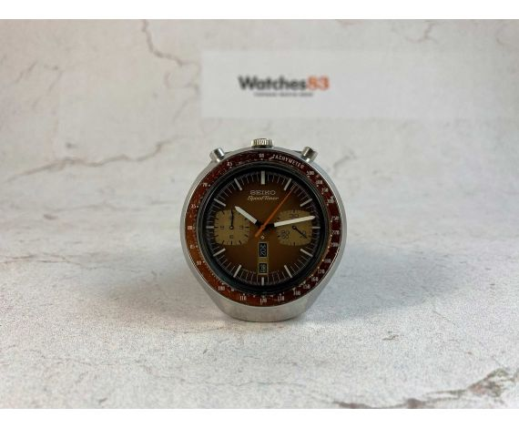SEIKO BULLHEAD SPEEDTIMER Ref. 6138-0040 Reloj cronógrafo antiguo automático Cal 6138 B JAPAN J 1977 *** TODO ORIGINAL ***