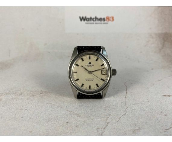 UNIVERSAL GENEVE POLEROUTER Vintage swiss automatic watch Ref 869112 Cal 1-69 MICROTOR *** SPECTACULAR ***