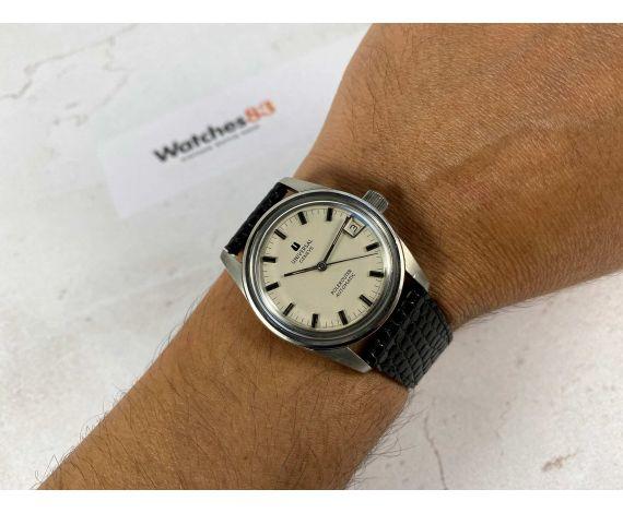 UNIVERSAL GENEVE POLEROUTER Reloj suizo vintage automático Ref 869112 Cal 1-69 MICROTOR *** ESPECTACULAR ***