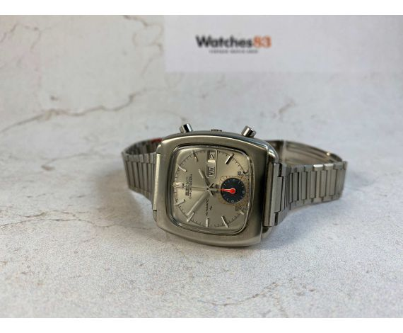 NOS SEIKO MONACO Ref 7016-5001 Vintage automatic chronograph watch Cal 7016. UNIQUE OPPORTUNITY *** NEW OLD STOCK ***