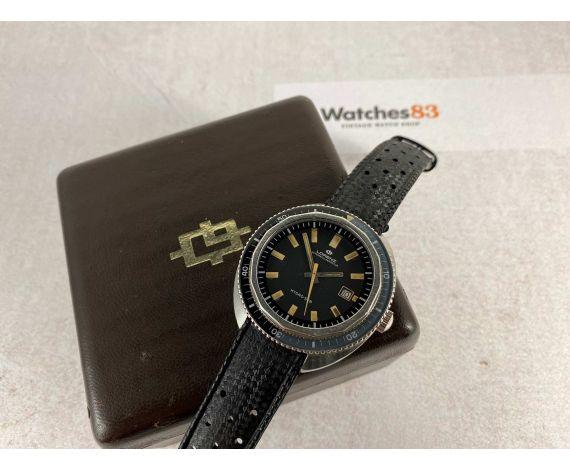 LORENZ HYDRO-SUB Vintage swiss automatic watch SKIN DIVER 50 ATMOSPHERES Screw Down Crown *** LARGE DIAMETER ***