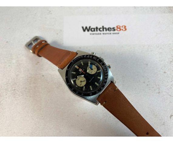 TISSOT SEASTAR Vintage swiss hand winding chronograph watch Cal. Lemania 1277 Ref 40508-8X *** SPECTACULAR PATINA ***