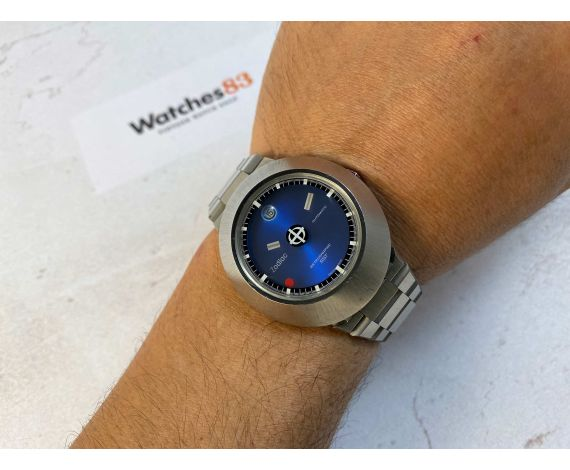 ZODIAC ASTROGRAPHIC Reloj suizo antiguo automático SST 36000 Cal. 88D Ref. 882 953 Dial Misterioso *** MINT ***