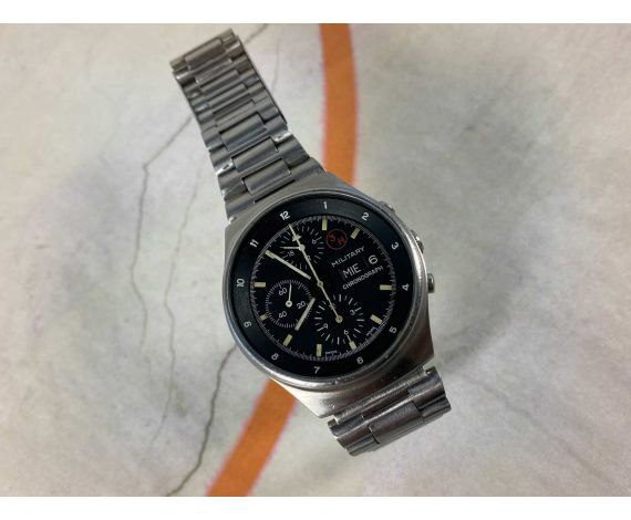 ORFINA PORSCHE DESIGN Vintage swiss automatic chronograph watch Cal. Lemania 5100 Ref. 7177 OVERSIZE *** MILITARY ***