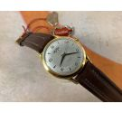 NOS ARCADIA Vintage swiss automatic watch Plaqué OR. OVERSIZE. Central seconds. Cal. Felsa 1560 *** NEW OLD STOCK ***