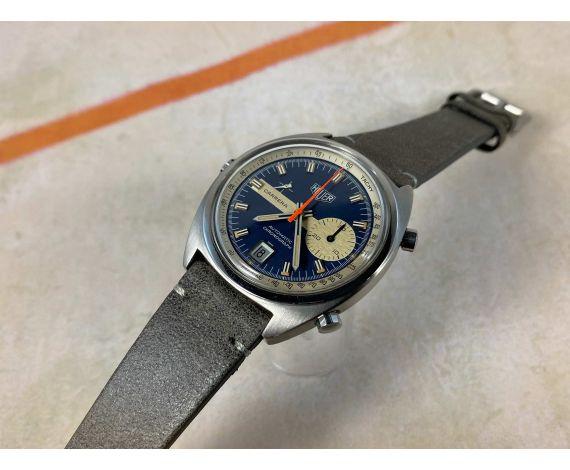 HEUER CARRERA Reloj Cronógrafo Vintage suizo automático Cal. 15 Ref. 1553 *** COLECCIONISTAS ***