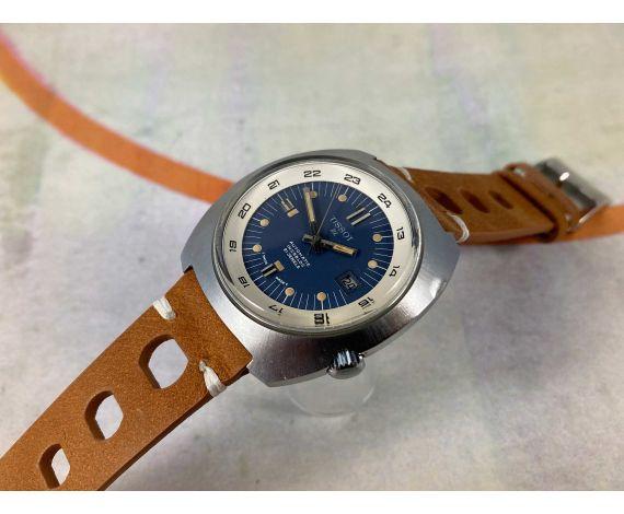 TISSOT DL Vintage swiss automatic watch 21 jewels Cal. ETA 784-2 Oversize *** SUPER COMPRESSOR ***