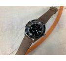 HELBROS INVENCIBLE SKIN DIVER Vintage hand winding watch Cal. P75 LORSA 20 ATMOSPHERES. LOLLIPOP *** BROAD ARROW ***