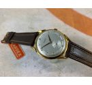 NOS KARDEX Vintage swiss hand winding watch OVERSIZE 39 mm Plaqué OR Cal. FHF 26 *** NEW OLD STOCK ***
