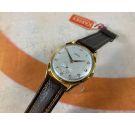 NOS KARDEX Reloj suizo vintage de cuerda OVERSIZE 39 mm Plaqué OR Cal. FHF 26 *** NUEVO DE ANTIGUO STOCK ***