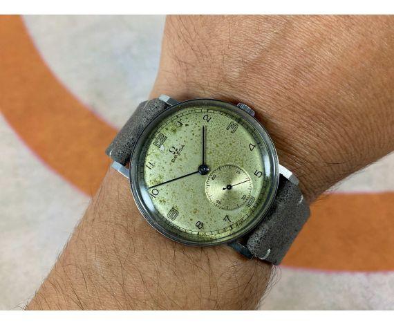 OMEGA CALATRAVA Reloj suizo antiguo de cuerda Cal. 30T2 COLECCIONISTAS gran diámetro *** JUMBO ***
