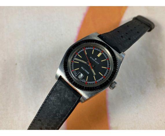 RADIANT BLUMAR Reloj DIVER suizo antiguo automático Cal. ETA 2772 Bisel bidireccional *** 5 ATM ***