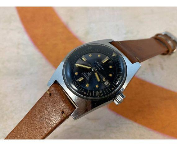 AQUASTAR NEMROD Reloj DIVER suizo vintage automático Cal. AS 1700/01 200 MÈTRES Ref. 1701 *** ESPECTACULAR ***