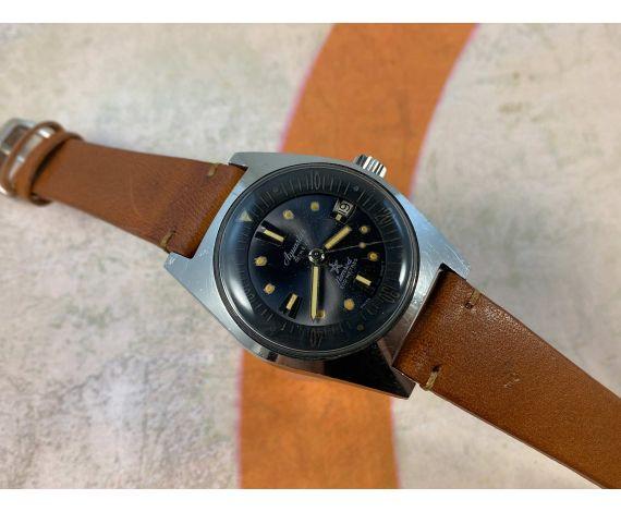 AQUASTAR NEMROD Vintage swiss automatic DIVER watch Cal. AS 1700/01 200 MÈTRES Ref. 1701 *** SPECTACULAR ***