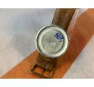 NOS FORTIS Vintage swiss hand winding watch Plaque or Cal ETA 1120 OVERSIZE SPECTACULAR ENGRAVED DIAL *** NEW OLD STOCK ***