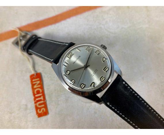 INCITUS NUEVO DE ANTIGUO STOCK Reloj antiguo de cuerda 17 rubis Cal. MFG Juvenia *** NOS ***