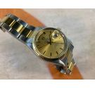 TUDOR OYSTER PRINCE DATE DAY Vintage swiss automatic watch Ref. 94613 Steel and Gold *** SPECTACULAR ***
