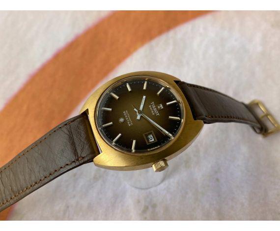 NOS TISSOT SEASTAR Reloj vintage suizo automático Cal. 2481 Ref. 44585-6X *** NUEVO DE ANTIGUO STOCK ***