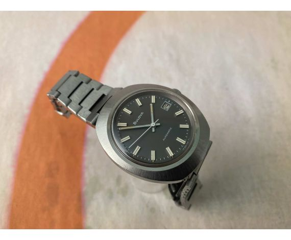 BULOVA Reloj suizo vintage automatico Cal. 11ANACD *** DIAL GRIS ***