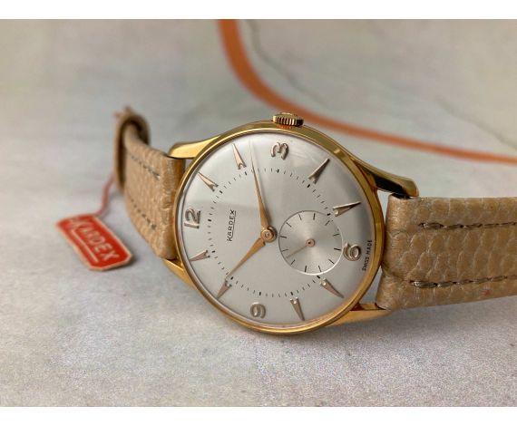 N.O.S. KARDEX Reloj suizo antiguo de cuerda Cal. FHF 26 NUEVO DE ANTIGUO STOCK *** IMPRESIONANTE ***