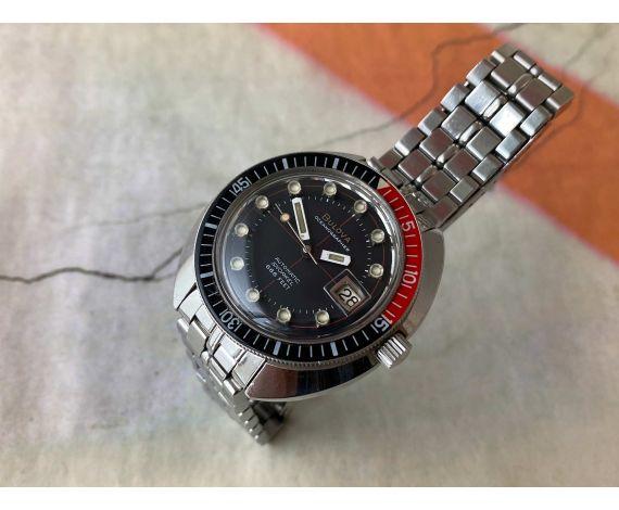 BULOVA OCEANOGRAPHER SNORKEL 666 FEET Reloj suizo vintage automático Cal 11BLACD DIVER *** PRECIOSO ***
