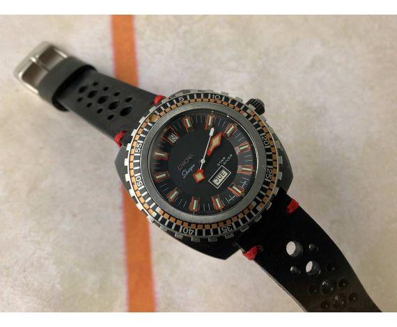 ENICAR SHERPA STAR DIVER Ref 2335 Reloj suizo automático vintage Cal. AR167 gran diámetro CORONA ROSCADA *** COLECCIONISTAS ***
