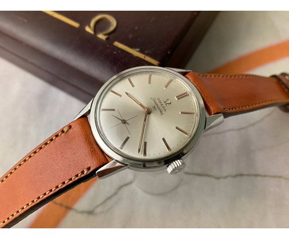 OMEGA SEAMASTER 30 Reloj suizo antiguo de cuerda Ref. 125.003-62 Cal 269 *** CON ESTUCHE ***