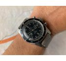 ROYCE DIVER Vintage swiss hand winding chronograph watch 20 ATM Cal. Landeron 248 *** SCREW-DOWN CROWN ***