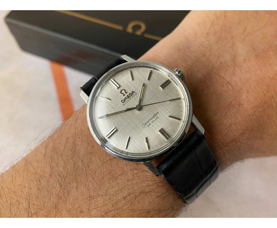 OMEGA SEAMASTER DE VILLE Vintage swiss automatic watch Ref. 135.020 Cal 552 *** WITH BOX ***