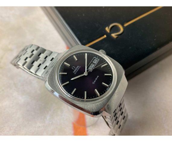OMEGA GENÈVE AUTOMATIC Reloj suizo antiguo automático Ref 166.0170 Cal 1022. Con estuche *** TODO ORIGINAL ***