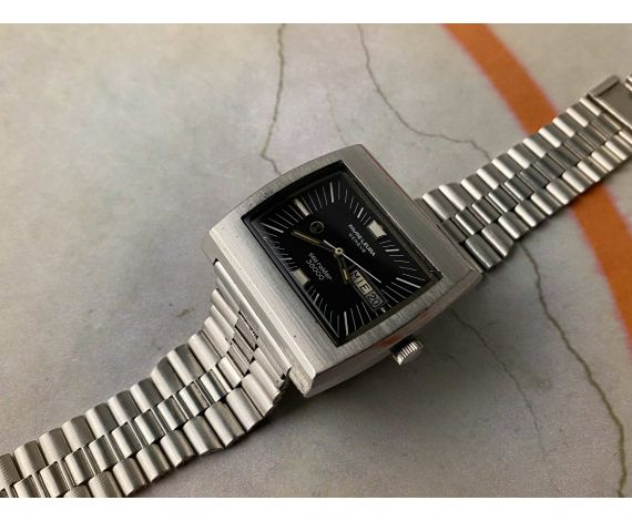 FAVRE LEUBA Geneve Sea Raider High Beat 36000 BPH Reloj antiguo automático Cal. FL 1164 *** ESPECTACULAR ***