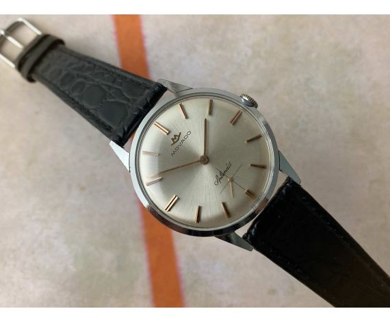 MOVADO SPLENDIT Vintage swiss hand wind watch Cal 135 *** ELEGANT ***