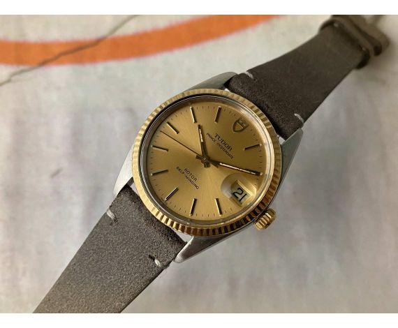 TUDOR PRINCE OYSTERDATE Reloj suizo antiguo automático Ref. 75203 Cal. 2824-2 *** PRECIOSO ***