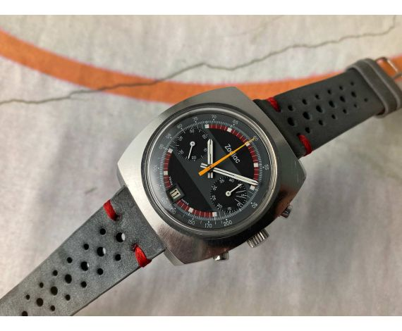 ZODIAC Reloj cronógrafo antiguo de cuerda Cal 84 (Valjoux 7734) Ref. 842 888 *** PRECIOSO ***